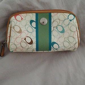 Coach makeup bag/case